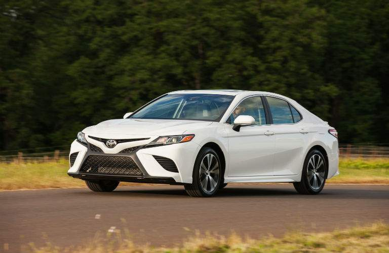 2018 Toyota Camry Exterior Driver Side Front Profile
