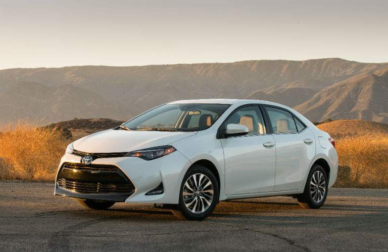 2018 Toyota Corolla Exterior Driver Side Front Profile