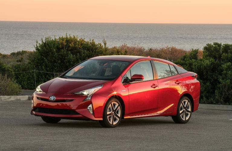 2018 Toyota Prius Exterior Driver Side Front Profile