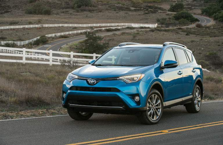 2018 Toyota RAV4 Hybrid Exterior Driver Side Front Profile