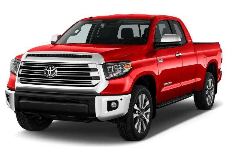 2018 Toyota Tundra Exterior Driver Side Front Profile
