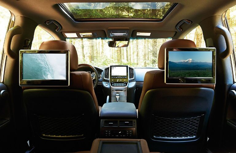 does the land cruiser have dvd player?