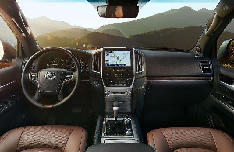 2016 Toyota Land Cruiser seat material