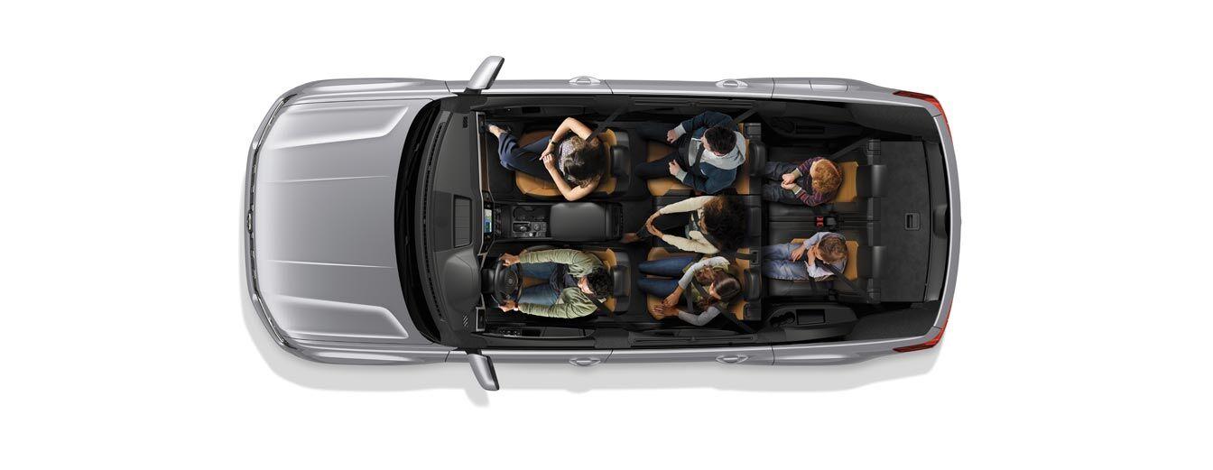 2018 Volkswagen Atlas SE 3.6L 4Motion (AWD) vs 2017 Honda Pilot EX 3.5 L AWD