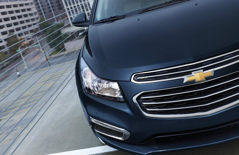 close-up of the 2015 Chevy Cruze grille