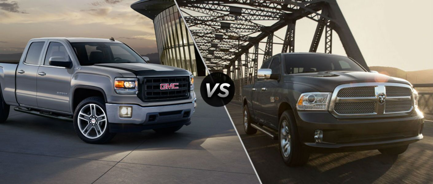 2015 Gmc Sierra Vs Ram 1500 Dodge Motor