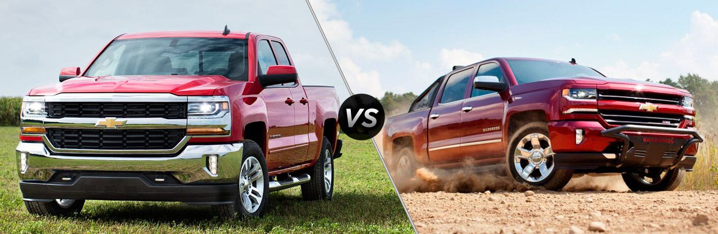 2016 Chevy Silverado LT vs LTZ