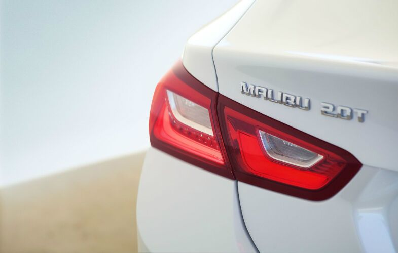 2016 Chevy Malibu taillight