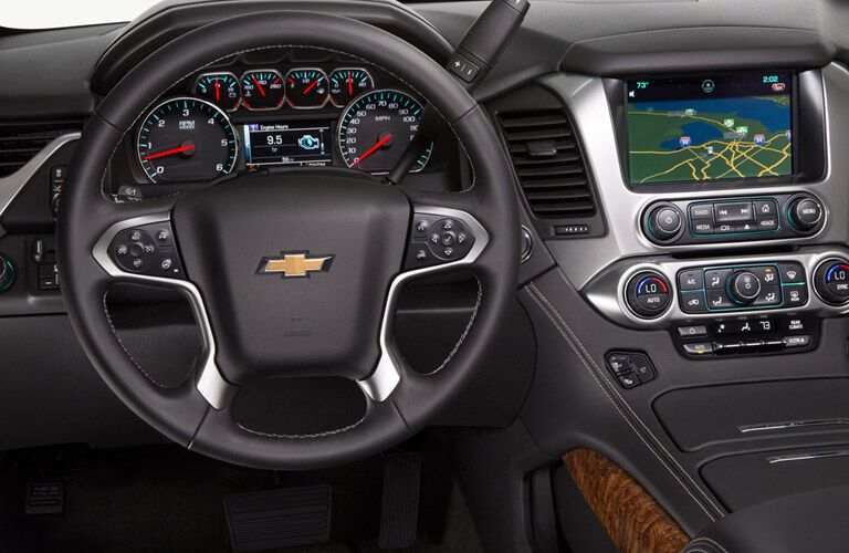 2016 Chevy Tahoe near Winnipeg dashboard view