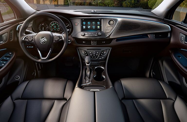 2016 Buick Envision dashboard interior view