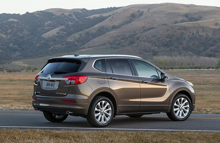 2016 Buick Envision on the road