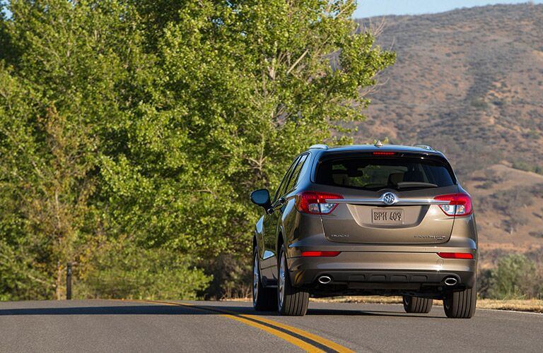2016 Buick Envision  from behind