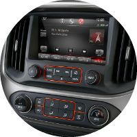 Technology features on the 2016 GMC Canyon