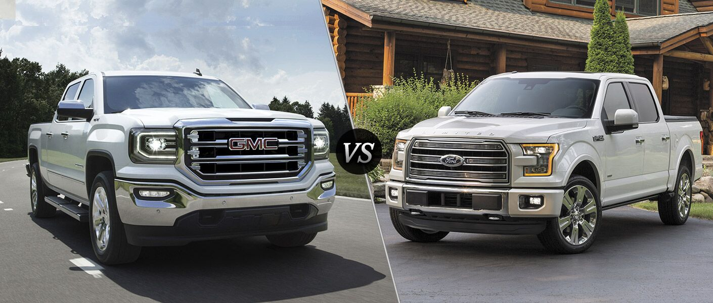 Silverado Vs F150 >> 2016 GMC Sierra vs 2016 Ford F-150