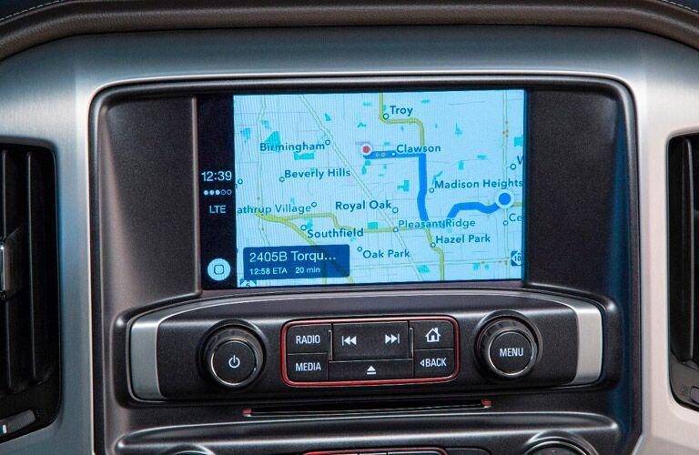 2017 GMC Sierra Kodiak Edition infotainment screen Winnipeg, MB