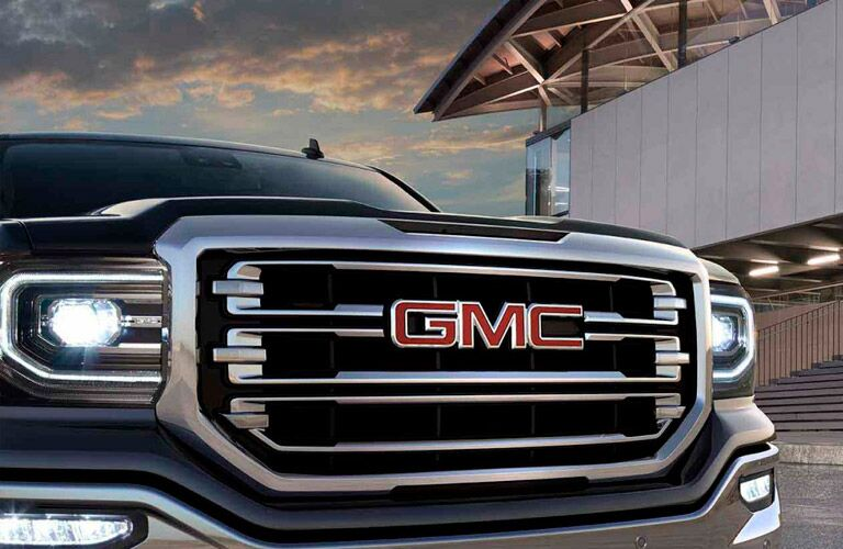 grille close-up of the 2017 GMC Sierra Winnipeg, MB