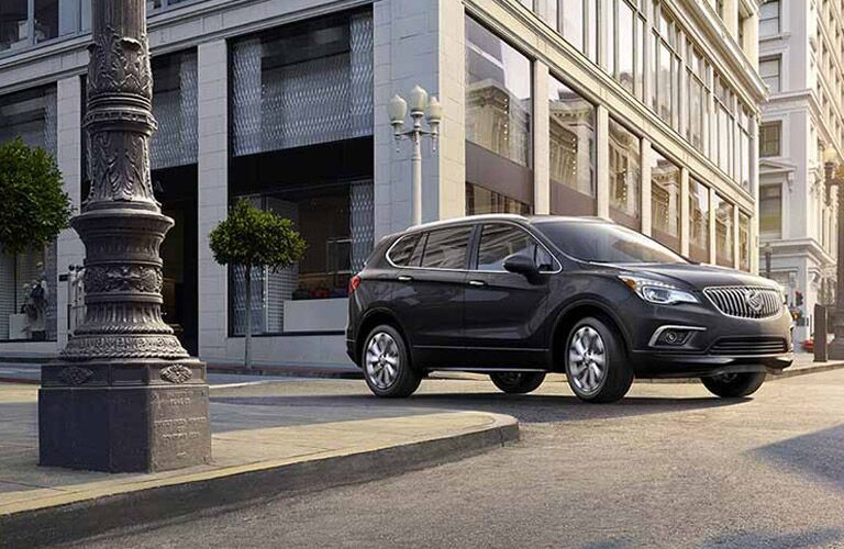 2017 Buick Envision turning a corner Winnipeg, MB