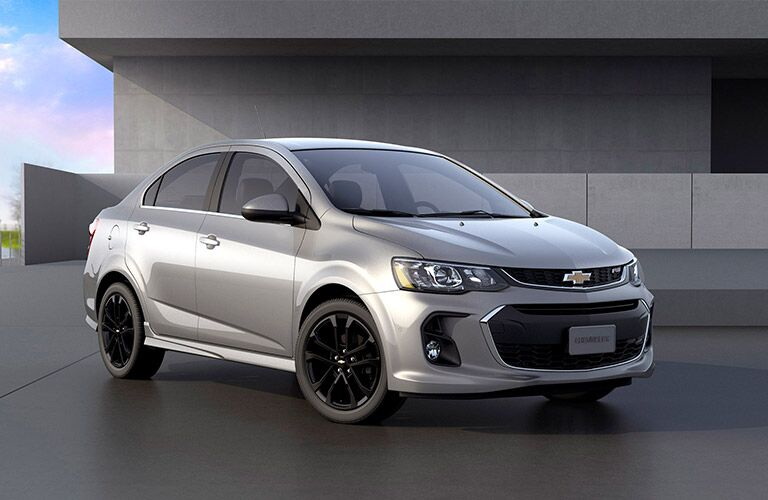 2017 Chevy Sonic grey sedan winnipeg mb