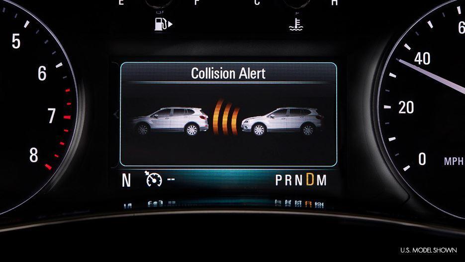 2019 encore forward collision alert