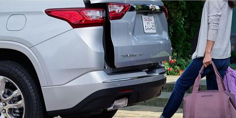 2019 Traverse Power Liftgate