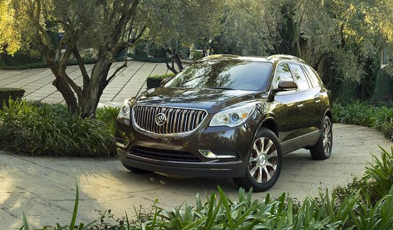 Dark Buick Enclave parked