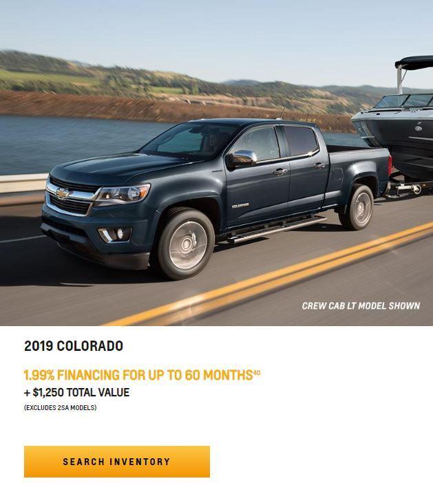 2019 COLORADO NEAR WINNIPEG, MB