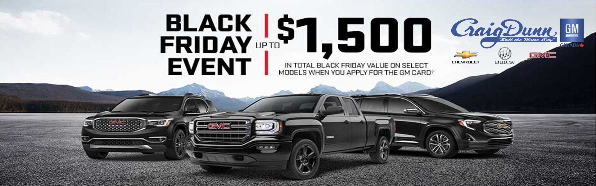 gmc black friday winnipeg, mb