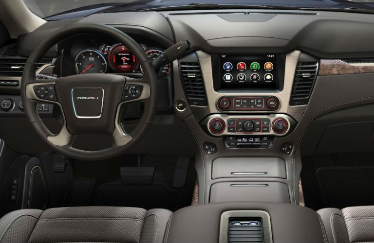 2016 GMC Yukon Denali features and options