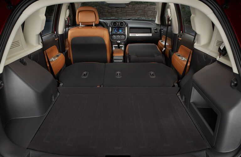 2016 Jeep Compass cargo space