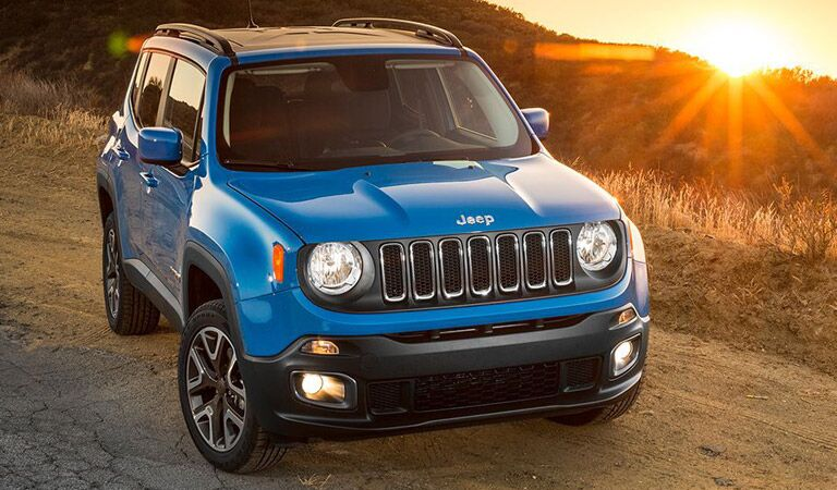 Jeep Renegade model research