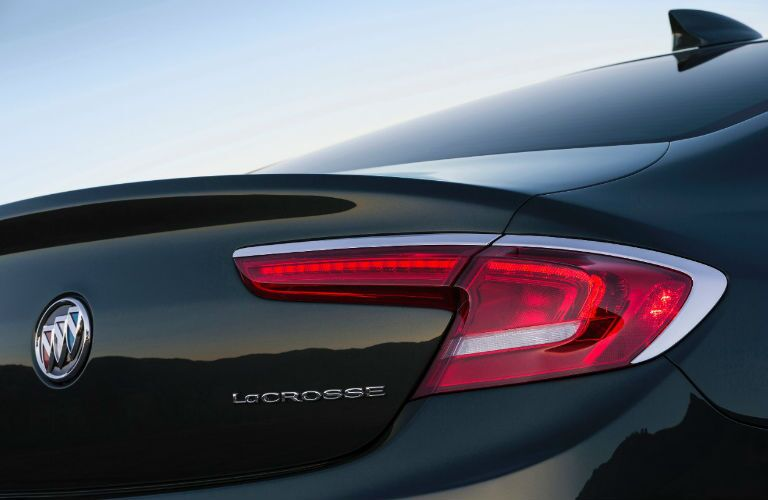 2017 buick lacrosse rear bumper and taillight design