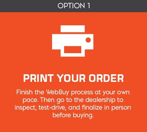 Print Your Order