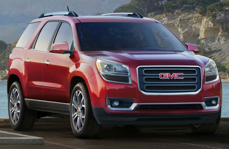 GMC Acadia model research