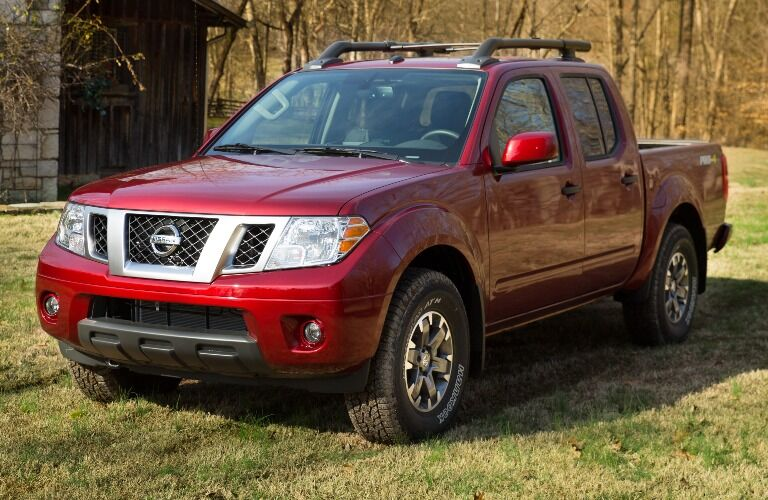 2020 Nissan Frontier parked on grass