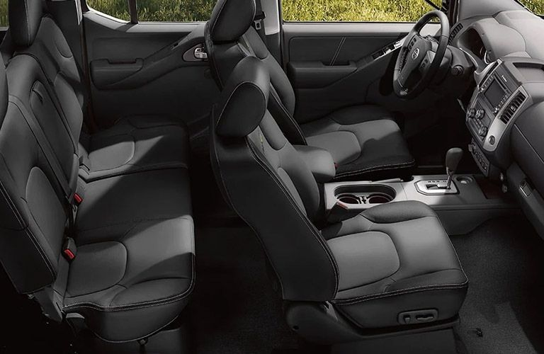 Interior view of the 2021 Nissan Frontier