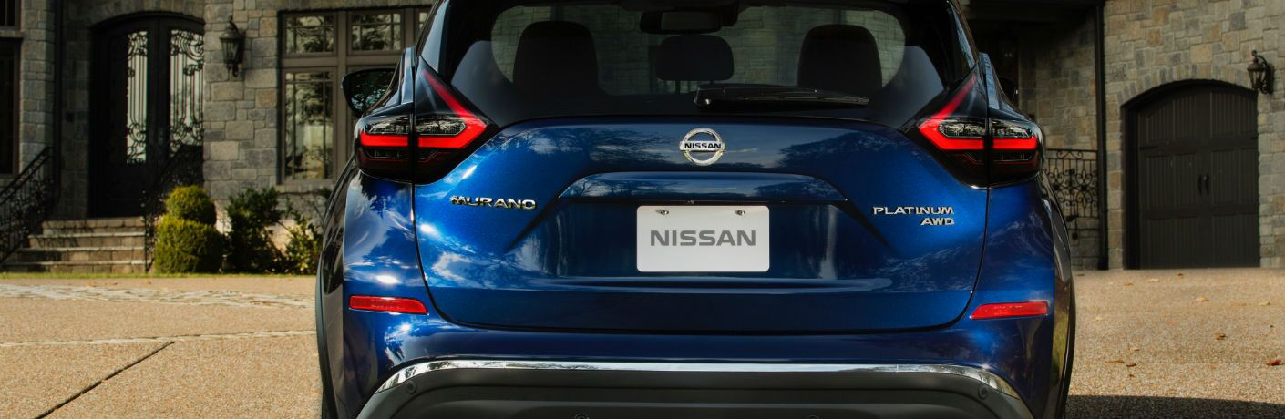 A rear photo of the 2019 Nissan Murano.