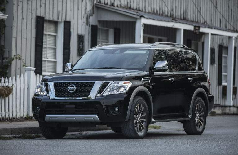 nearly luxury versions of the 2018 Nissan Armada are coming too