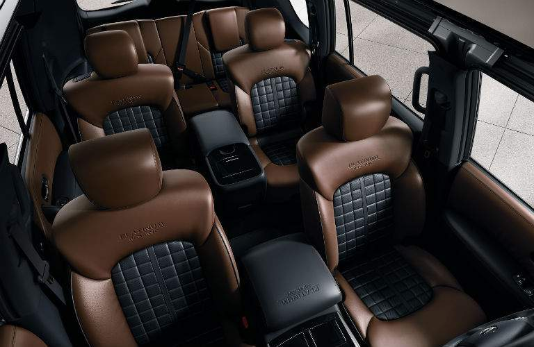 Having enough space is never a problem in the 2018 Armada