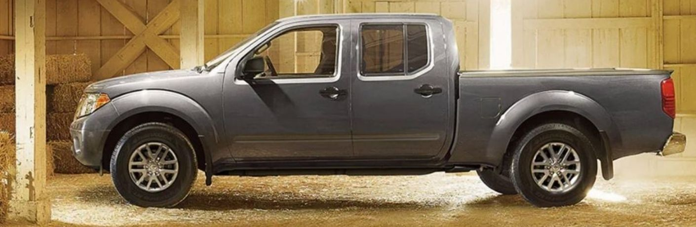 Side angle view of the 2021 Nissan Frontier