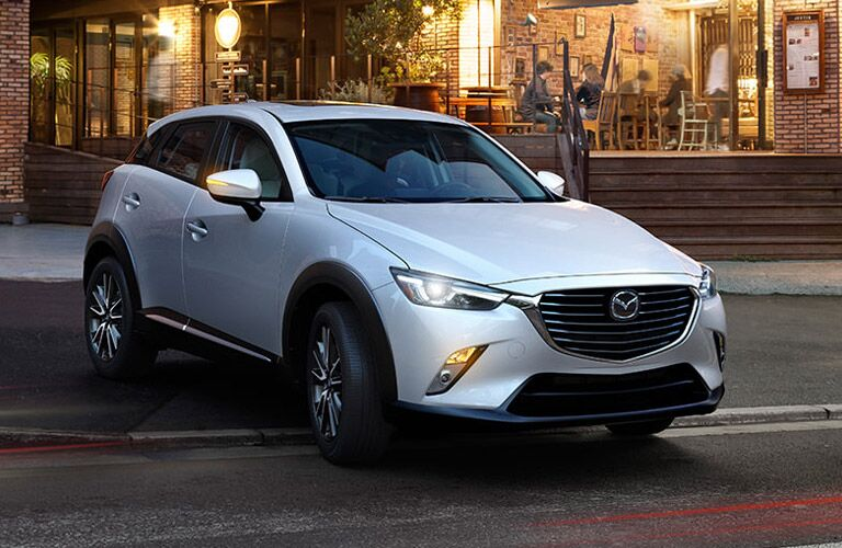 The elegant Mazda CX-3 subcompact crossover SUV