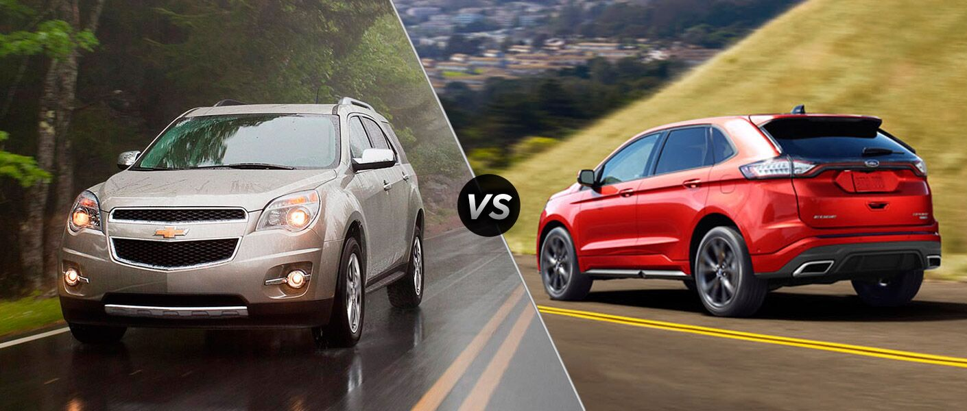 2015 Chevy Equinox vs 2015 Ford Edge