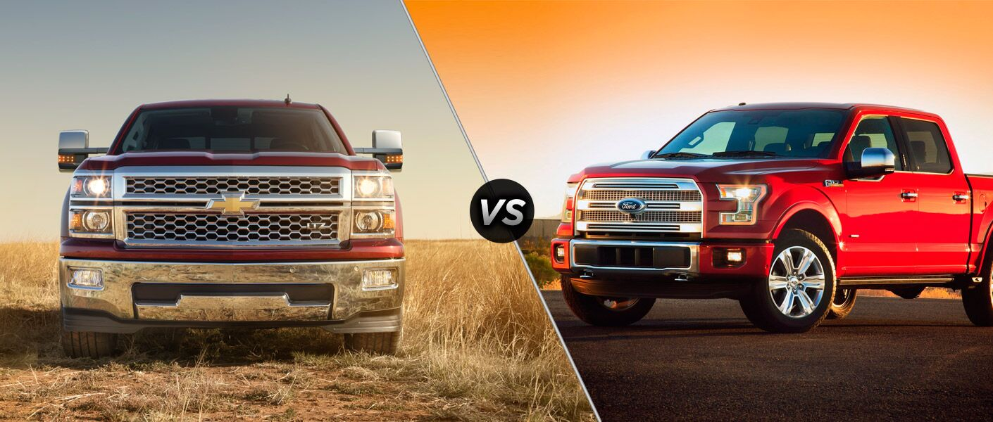 2015 Chevy Silverado vs 2015 Ford F-150