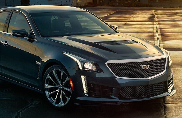 2016 Cadillac CTS aggressive front
