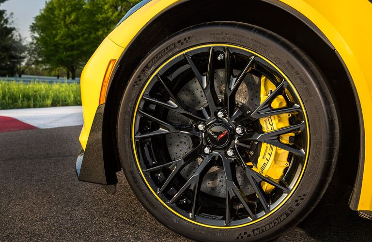 specialty wheels on the 2016 Chevy Corvette
