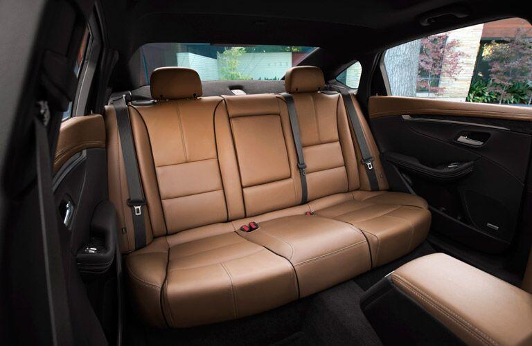 spacious interior of the 2016 Impala