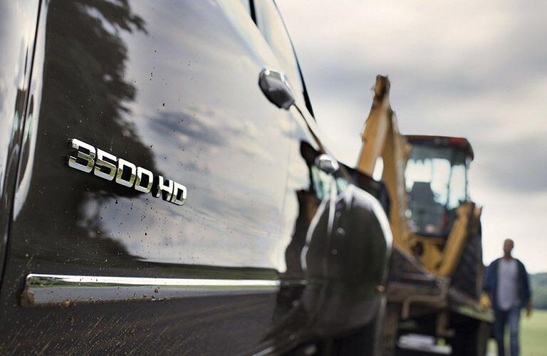 2016 Chevy Silverado 3500HD badging