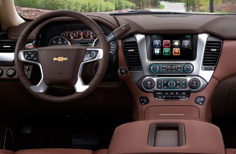 Interactive interior of the 2016 Chevy Suburban