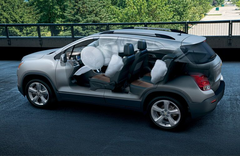 10 airbags 2016 Chevy Trax