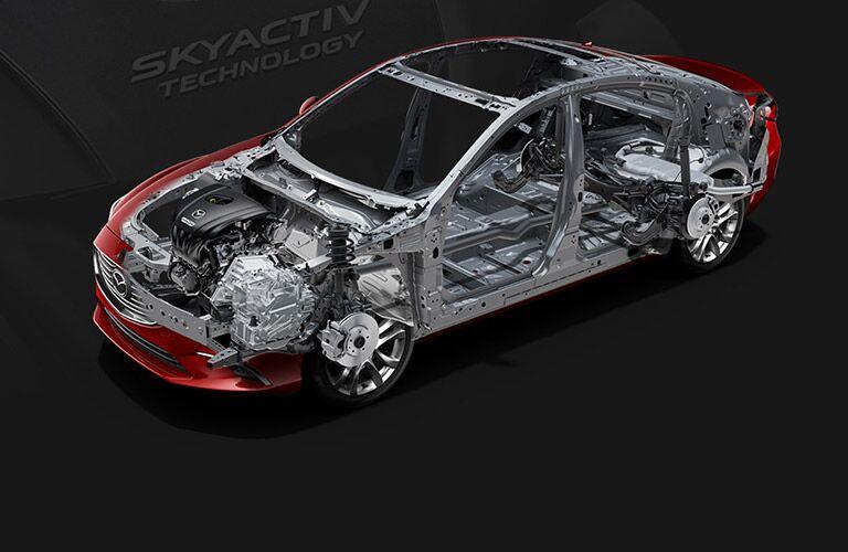 Ground-up Skyactiv engineering 2016 Mazda6