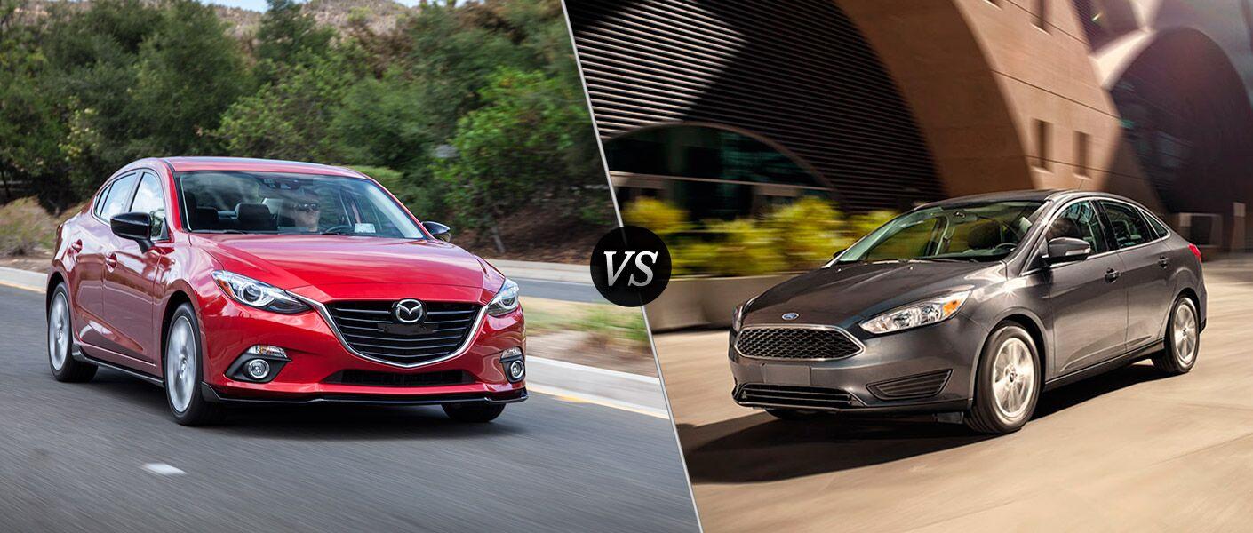 2016 Mazda3 vs 2016 Ford Focus
